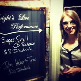 Daniela @ Cornelia Street Cafe
