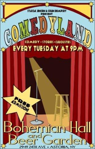 Comedyland, Astoria, Queens, NY