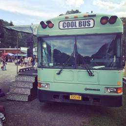 Cool Backstage Bus